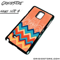 Chevron With Apple Logo Case For Samsung Galaxy Note 4 Case