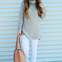 Memories Of This Sweater: Heather Gray