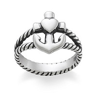James Avery Faith, Hope & Love Ring - Sterling Silver 9