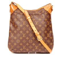 Louis Vuitton Odeon Mm Brown Monogram Cross Body Bag 4958 (Authentic Pre-owned)