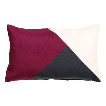 Color-block Cushion Cover - from H&M