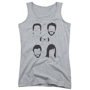 Its Always Sunny In Philadelphia - Casted Shadows Juniors Tank Top