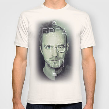 Breaking Bad Art  - Jesse Pinkman and Walter White. T-shirt by Mike