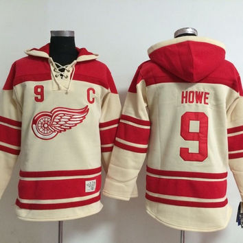 Detroit Red Wings GORDIE HOWE #9 Vintage NHL Sweatshirt