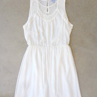 Elegant Ivory Party Dress