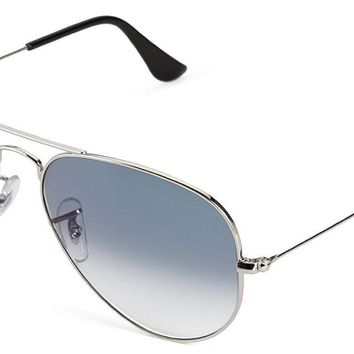 Ray-Ban 0RB3025 58 Silver Men's Sunglasses