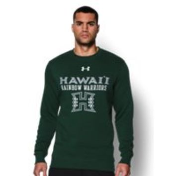 Under Armour Men's Hawai'i UA Rival Fleece Crew