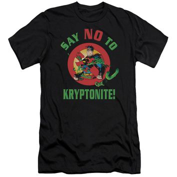 Superman - Say No To Kryptonite Premuim Canvas Adult Slim Fit 30/1