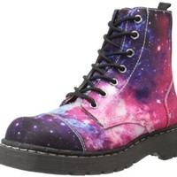 T.U.K. Women's T2205 Combat Boot,Galaxy,8 M US