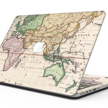 The Vintage Grand Ocean Map - MacBook Pro with Retina Display Full-Coverage Skin Kit