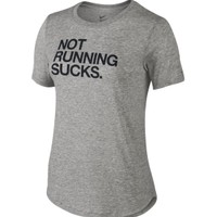 Nike Women's Not Running Sucks Printed T-Shirt | DICK'S Sporting Goods