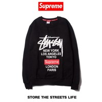 Women's and men's Stussy  Sweatshirt for sale 501965868-0111