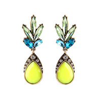 Juicy Hawaiian Pineapple 14k Gold Earrings