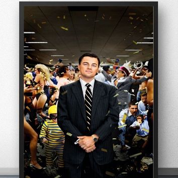 The Wolf of Wall Street Movie Wall Art Wall Decor Silk Prints Art Poster Paintings For Living Room No Frame