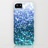 ocean glitter iPhone Case by Island Art | Society6