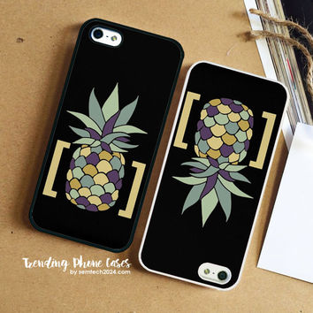 Pineapple In Brackets Design  Samsung Galaxy S6 Case Cover for S6 Edge S5 S4 Case