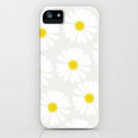 Chamomile iPhone & iPod Case by Georgiana Paraschiv