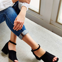 Suede Bessie Heel - Urban Outfitters