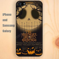 skull Halloween Pumpkin iphone 6 6 plus iPhone 5 5S 5C case Samsung S3,S4,S5 case Ipod Silicone plastic Phone cover Waterproof