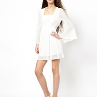 Traffic People Faded Graces Long Sleeved Dress