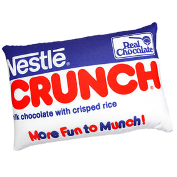 Nestle Crunch Squishy Candy Pillow