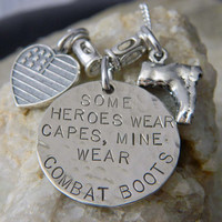 Some Heros wear Capes Mine Wear Combat Boots by WireNWhimsy