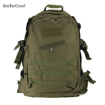 40L 3D Outdoor Sport nylon Military Tactical Backpack Rucksack travel Bag Camping Hiking climbing bag