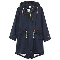 Buy Toast Fishtail Parka Coat, Navy online at John Lewis