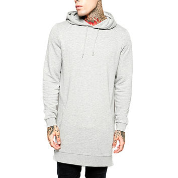 Men's Fleece Sweatshirts With Hoody & Side Zip
