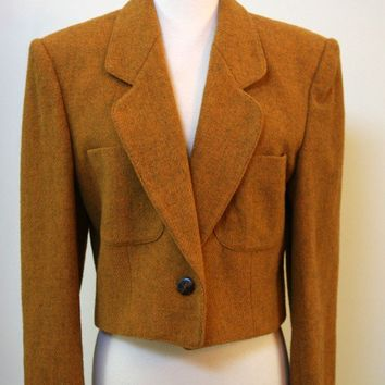 JG Hook Goldenrod Wool Blend Jacket
