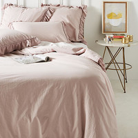 Ruffled Flange Duvet Cover