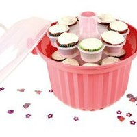 Giant Cupcake Carrier: Pink by Fox Run Craftsmen at Epicurious Shop