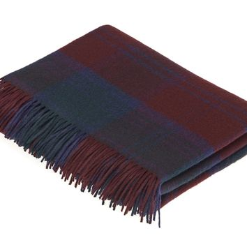 Tartan - Merino Lambswool - Lindsay - Throw Blanket