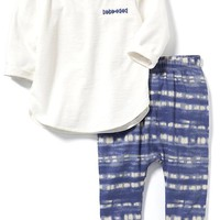 Patterned 2-Piece Set