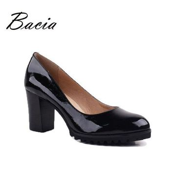 ONETOW Bacia High Quality Genuine Leather Oxford Shoes For Women Slip-on Office Ladies Shoes
