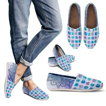 Watercolor Medical Set Casual Shoes