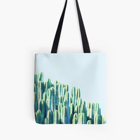 'Cactus by the Sea #redbubble #decor ' Tote Bag by 83oranges