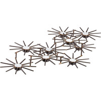 star 9 candleholder in candleholders, candles | CB2