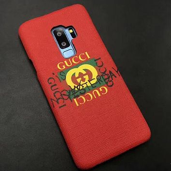 Perfect Gucci Phone Cover Case For  Samsung S9/S9+  Note8   S8/S8+