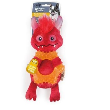 All For Paws Dog Red Monster Dental Chew Star