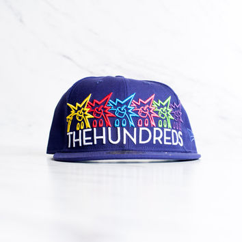 New Era x The Hundreds Big Adam Bomb Logo - Purple