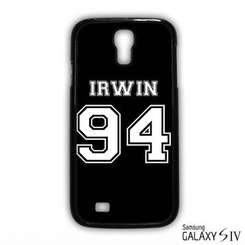 Irwin 94 5SOS 5 Second Of Summer for phone case Samsung Galaxy S3,S4,S5,S6,S6 Edge,S6 Edge Plus phone case