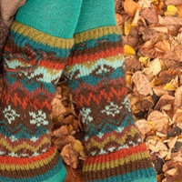 Socks » Socks » Nordic Wool Leg Warmers « Sock Dreams