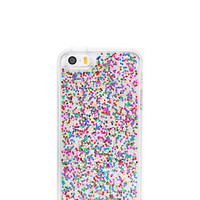 glitter clear iphone se case