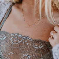 Lasso The Moon Necklace - Gold