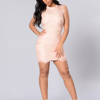 Young Love Dress - Pink
