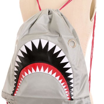 Totes Fierce Nylon Shark Backpack