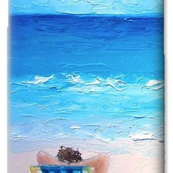 Lazy beach day iPhone 6 Case