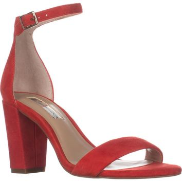 I35 Kivah Ankle Strap Dress Sandals, Spring Red, 8 US