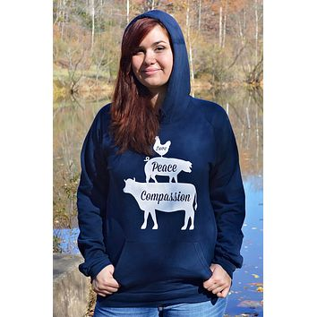 Love, Peace, and Compassion Sweatshirt